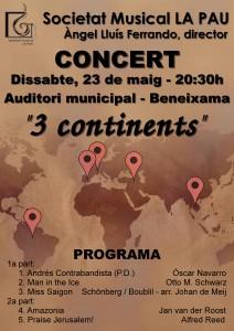 Concert «3 continents»
