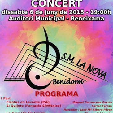 Concert SM La Nova de Benidorm