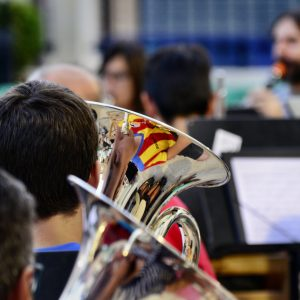 Assaig previ al Concert de Festes 2016