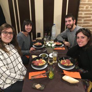 Dinant al restaurant Jardín del Príncipe - Aranjuez