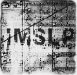 IMSLP: web amb partitures de domini públic