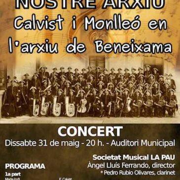 Concert: «Calvist i Monlleó en l'arxiu de Beneixama»