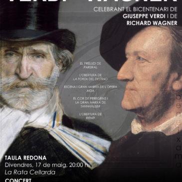 Bicentenari Giuseppe Verdi i Richard Wagner