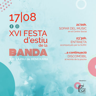 XVI Festa d'estiu de la Banda