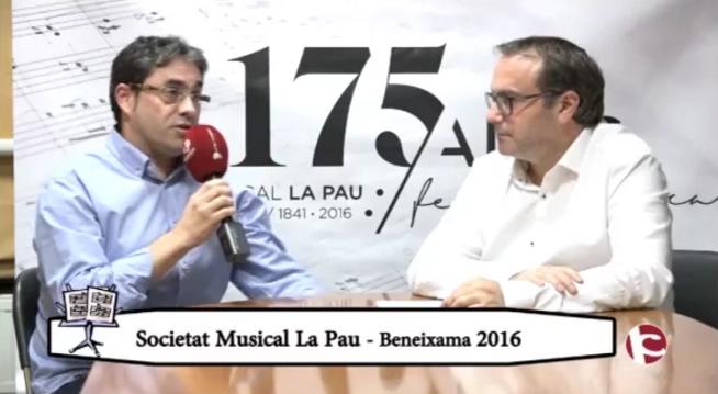 La Pau de Beneixama a Intercomarcal TV