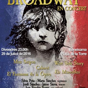 ELS MUSICALS DE BROADWAY EN CONCERT