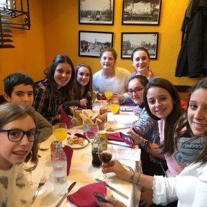 Dinant al restaurant Abuelita Alicia - Madrid