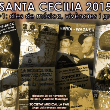 Santa Cecília 2015