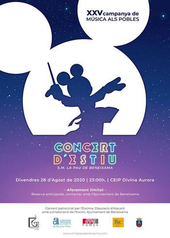 Concert d'estiu 2020